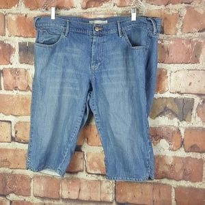 Old Navy Womens Low Rise Denim Shorts Size 18